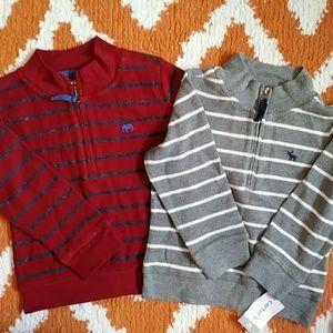 NWT Carter's Pull Over Sweatshirts